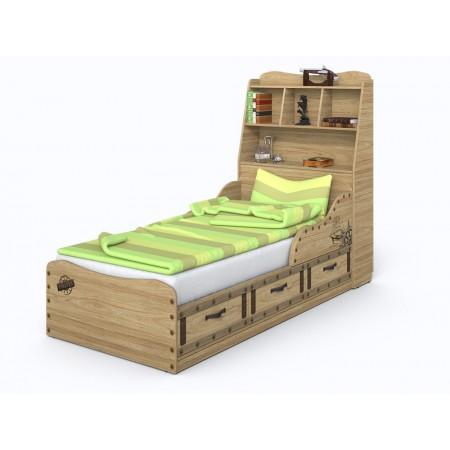 Кровать Корсар-3 с изголовьем