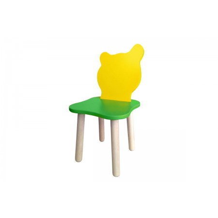 Детский стульчик Джери Зелено-желтый