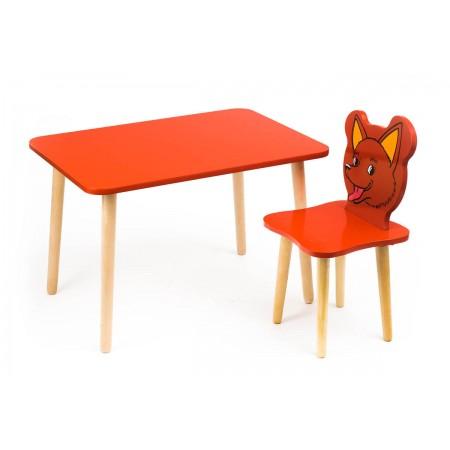 Комплект детской мебели Джери с красным столиком