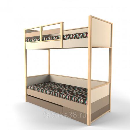 Двухъярусная кровать Робин Вуд с ящиком