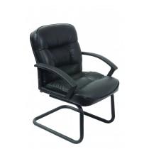 Кресло посетителя Бюрократ T-9908AXSN-Low-V