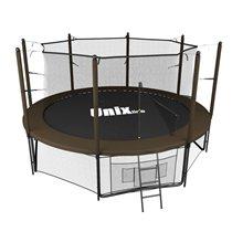 Батут Unix line Black&brown inside (305 см/10 ft)