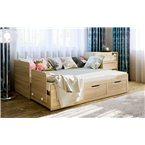 Расладная двуспальная кровать ШЕРВУД КШ-06