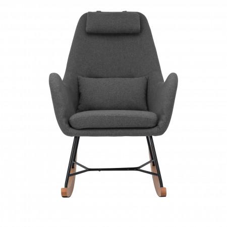 Кресло-качалка Leset Duglas серый