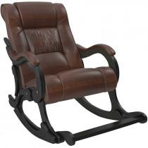 Кресло-качалка Модель 77 Венге, к/з Antik Crocodile