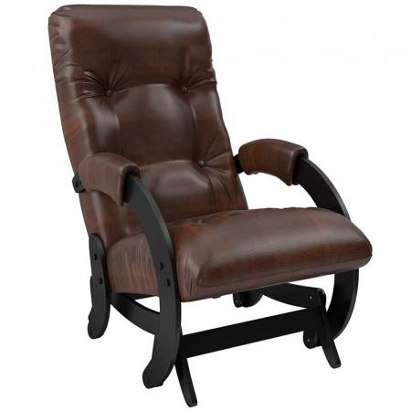 Кресло-глайдер Модель 68 Венге, кожзам Antik Crocodile