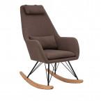 Кресло-качалка Leset Moris кофе