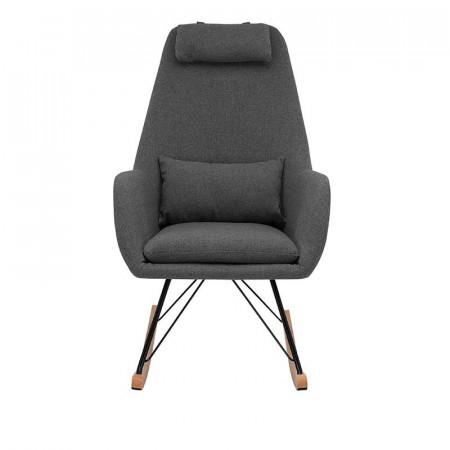 Кресло-качалка Leset Moris серый