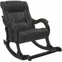 Кресло-качалка Модель 77 венге/экокожа Dundi109