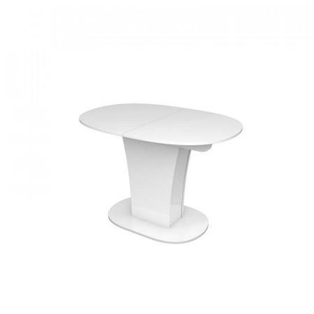 Обеденный стол LESET ФЛЕР белый глянец