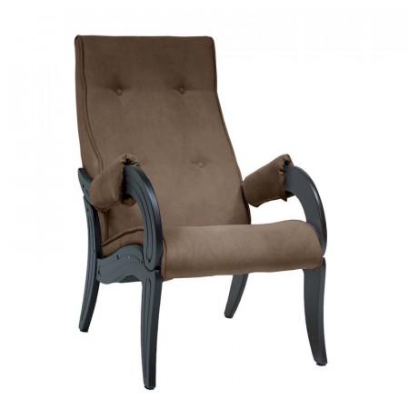 Кресло для отдыха Модель 701 Венге, ткань Verona Brown
