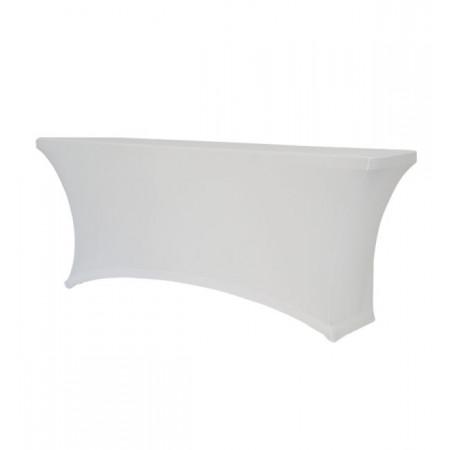 Чехол ТПО180 для прямоугольного стола, белый.