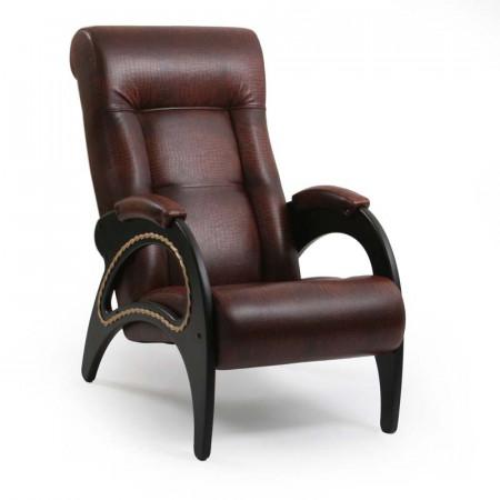 Кресло Модель 41 венге, к/з Antik crocodile