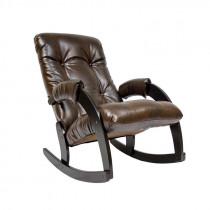 Кресло-качалка Модель 67 венге  к/з Antik crocodile
