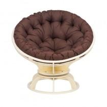Кресло для отдыха ПАПАСАН с подушкой, дуб шампань, шоколад
