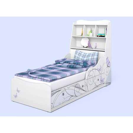 Детская кровать Леди-3 с изголовьем