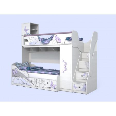 Кровать-чердак Леди-4 + Леди-3