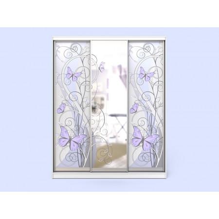 Шкаф-купе с зеркалом Леди 3-2