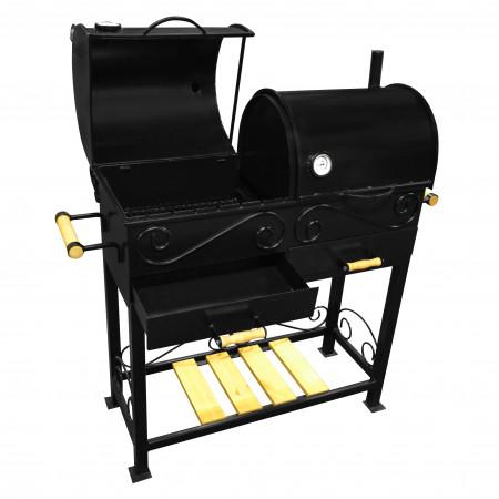 Профессиональное угольно древесное барбекю