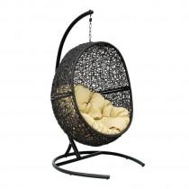 Кресло подвесное Lunar Чёрный