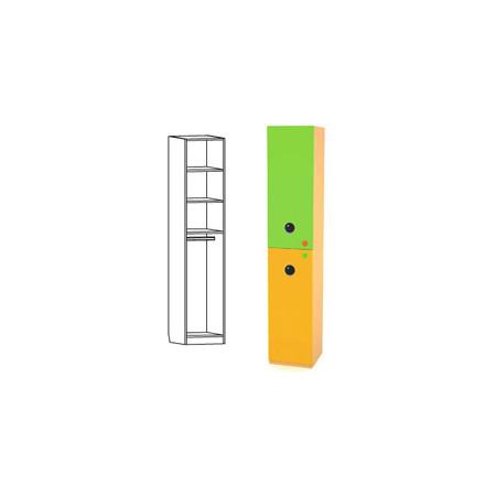 Шкаф-пенал комбинированный, Выше радуги