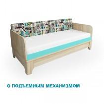 Кровать Индиго ПМ 97  Цвет-Индиго1