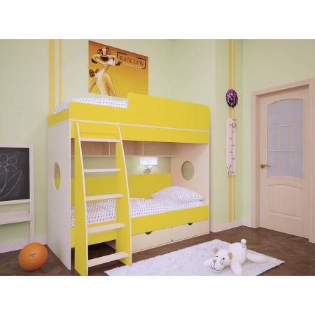 Двухъярусная кровать Бамбини 7