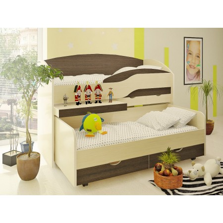Двухъярусная кровать Бамбини 8