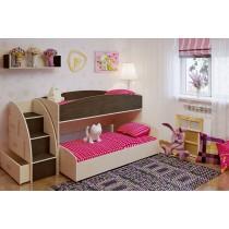 Двухъярусная кровать Бамбини 26