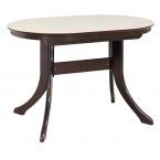 Обеденный стол  МАРСЕЛЬ 120/80-КМ (овальный с иск.камнем)