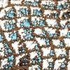 Жаккард VIZANTIYA romb persian blue, 6 категория