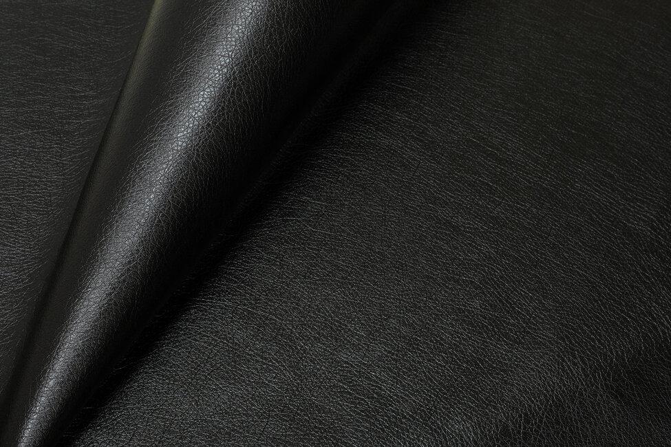 Экокожа чёрный