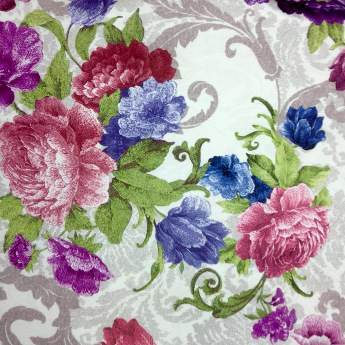 Ткань цветы