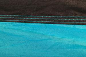 Парашютный шёлк blue THS-01