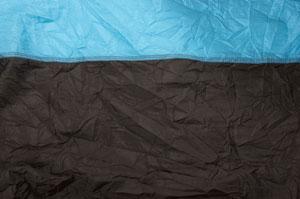 Парашютный шёлк blue THD-05