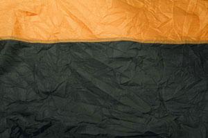 Парашютный шёлк orange THD-06