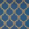 Жаккард Chateau losange cobalt, 4 категория