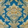 Жаккард Chateau monogramme cobalt, 4 категория