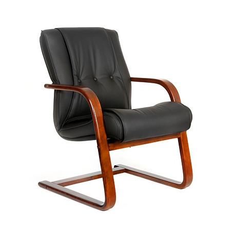 Кресло посетителя CHAIRMAN 653 V кожа