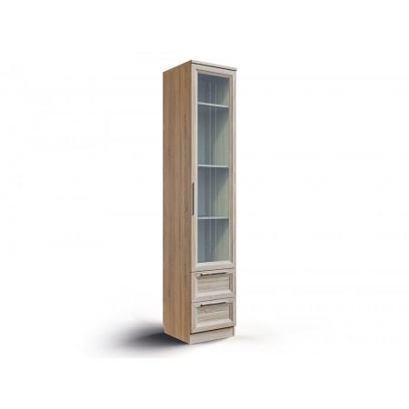 Шкаф Шервуд с ящиками и дверь со стеклом Ш-05