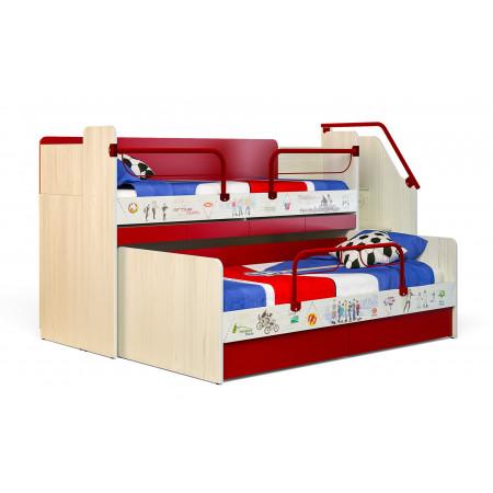 Двухъярусная кровать Аткив 1+ Актив 2