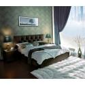 Мягкая интерьерная кровать Marlena с ПМ