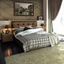 Мягкая интерьерная кровать Sandra с ПМ