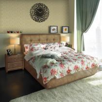 Мягкая интерьерная кровать Sandra