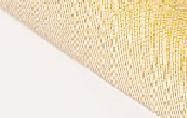 Белый/ткань золотая