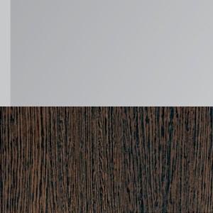 Корпус венге+фасад венге/зеркало